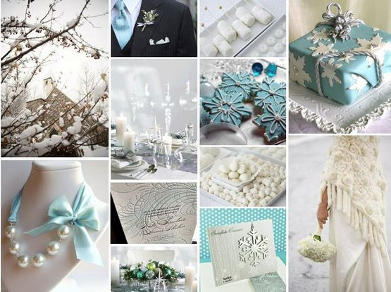 Wedding theme ideas premier bride expo since we live in florida georgia or alabamawe should not expect snowbut your theme can be centered around it colors for a winter wedding blues reds junglespirit Image collections